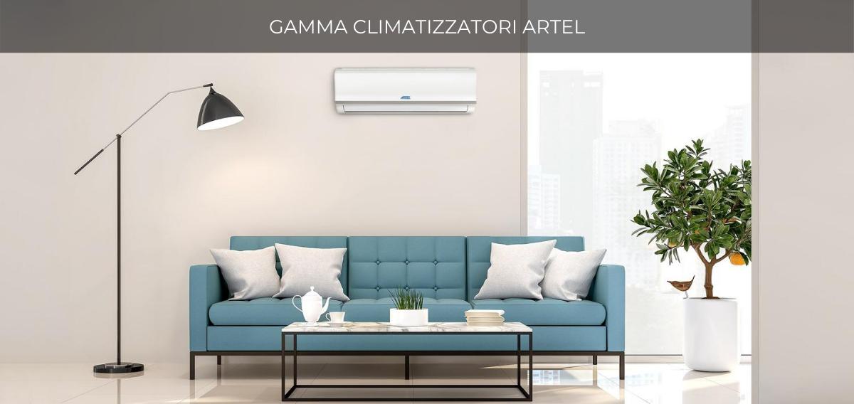 Gamma climatizzatori con pompa di calore Artel